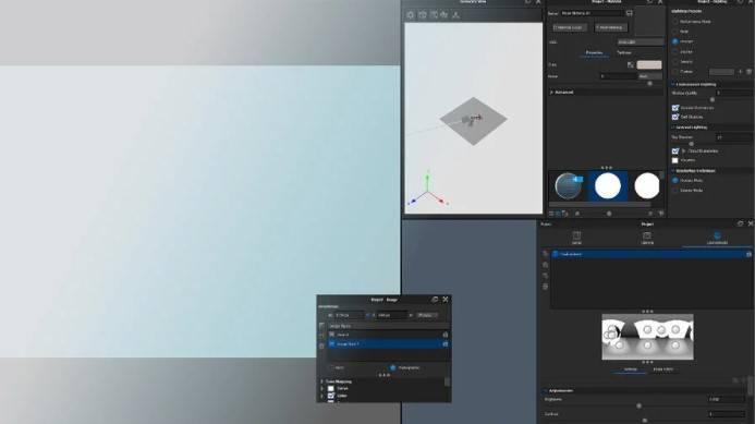 KeyShot Benutzeroberfläche einstellen und speichern
