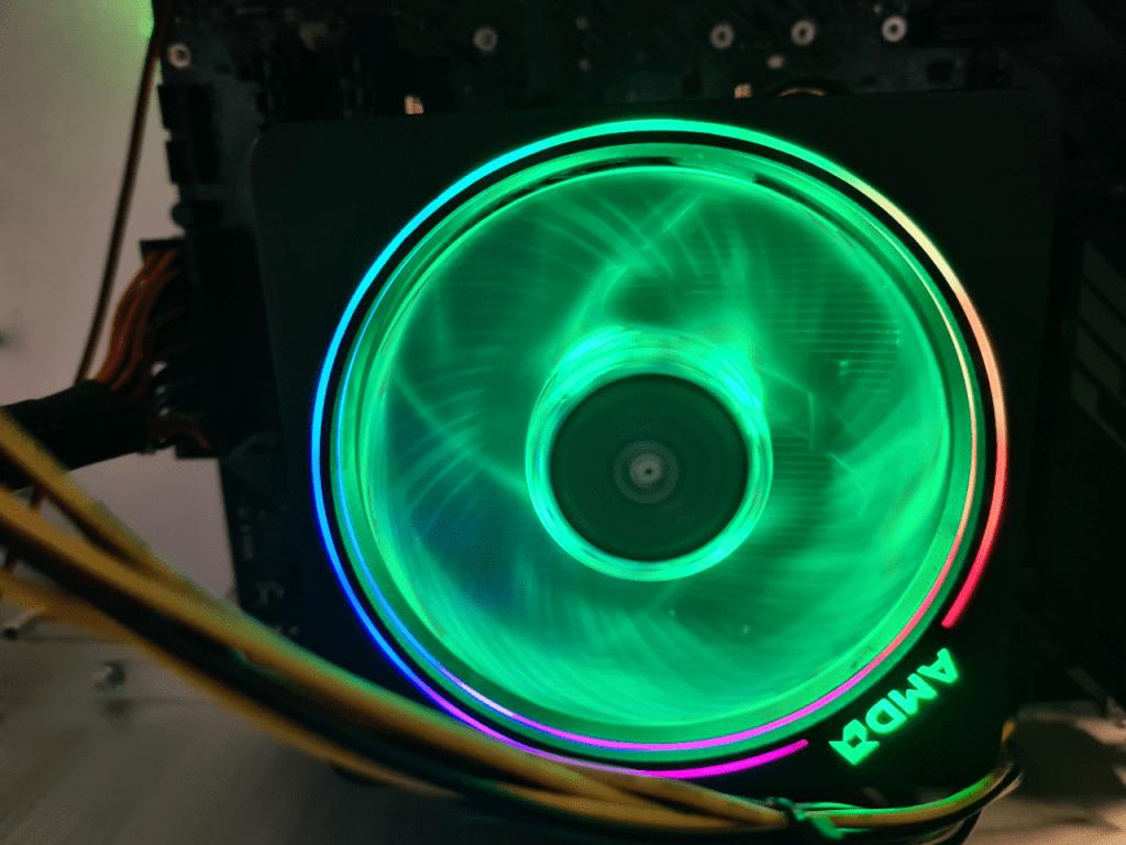 der wird noch getauscht - Kühler von AMD
