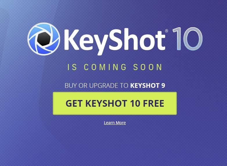Keyshot upgraden und keyshot 10 kostenlos for free bekommen