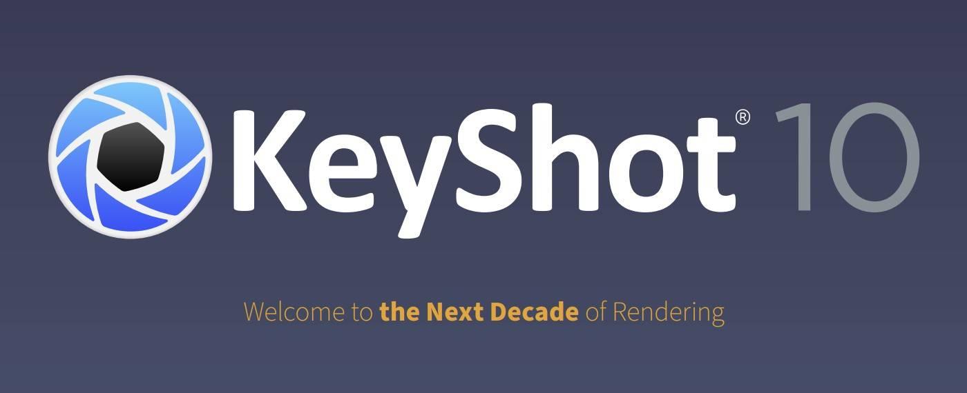 alle downloadlinks für die neue keyshot 10 version in einer übersicht