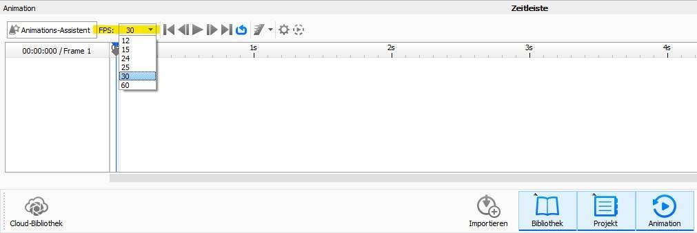 FPS Bildwiederholrate in KeyShot Einstellung um die perfekten Hertz