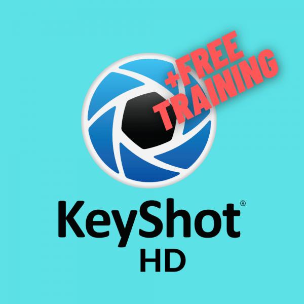 KeyShot HD Lizenz inkl. Training Aktion