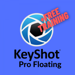 KeyShot Netzwerklizenz floating inklusive Training online Aktion KeyShot