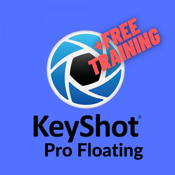 KeyShot Netzwerklizenz floating inklusive Training online Aktion KeyShot
