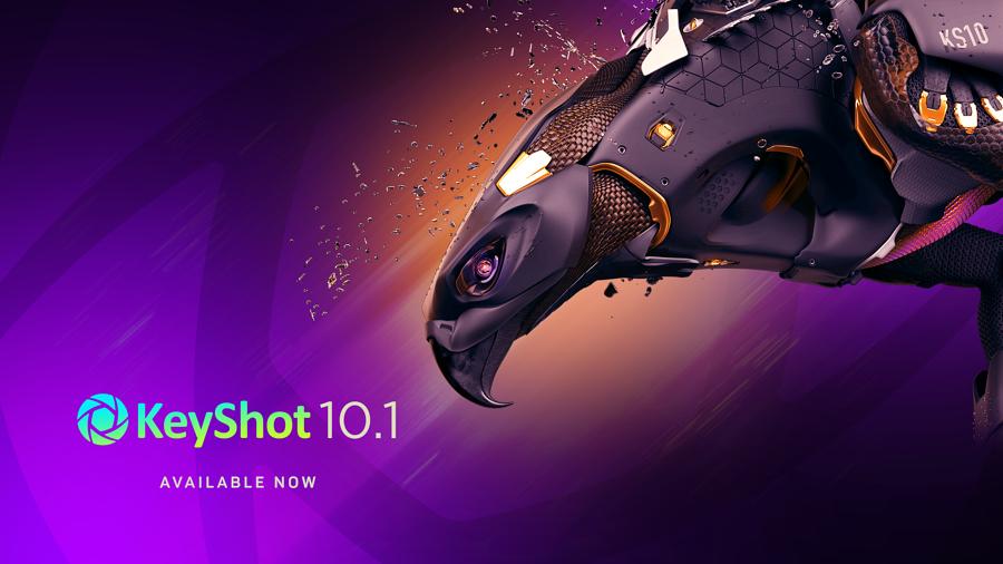 Whats new in V10.1 KeyShot - eine Übersicht