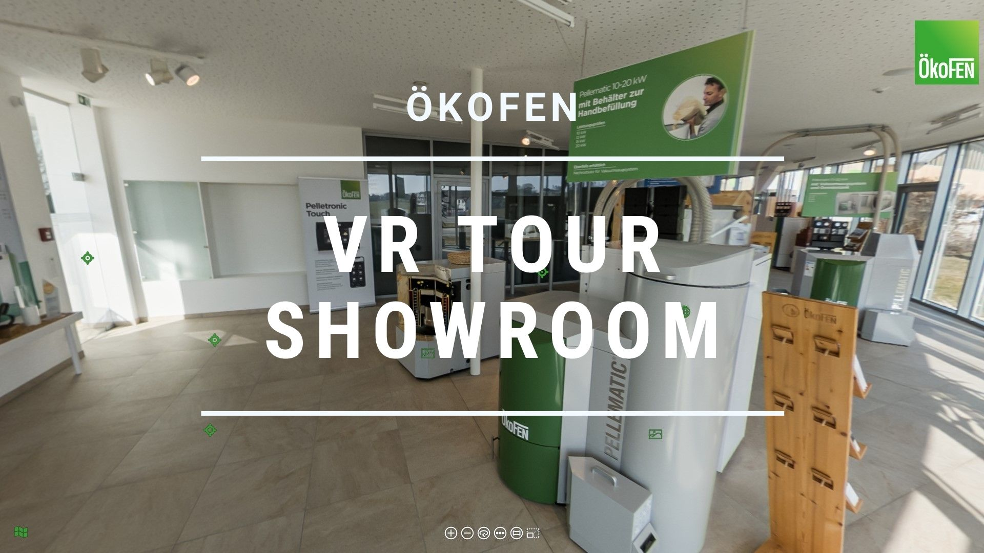 VR Tour Showroom Kunde ÖkoFEN