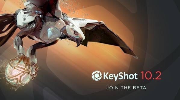 keyshot 10.2 beta version whats new sneak peak
