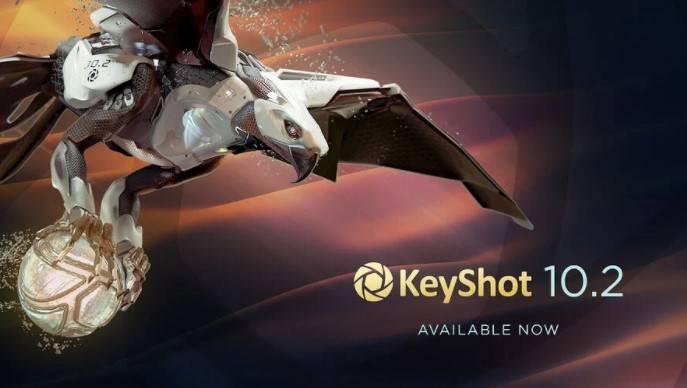 New KeyShot 10.2 Überblick des Updates